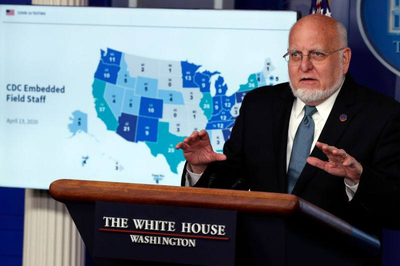 Cdc director clarifies concerns over potential second wave of coronavirus