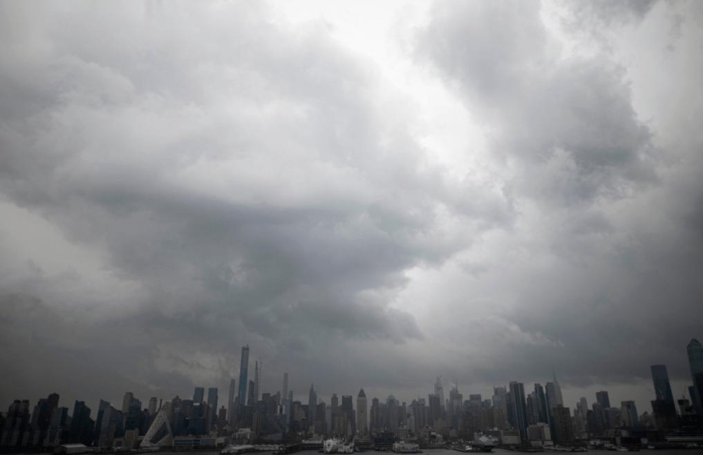 New York hit with tornado warning as it battles world's worst coronavirus outbreak