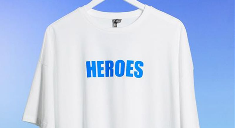 All the brands releasing charitable T-shirts in aid of coronavirus