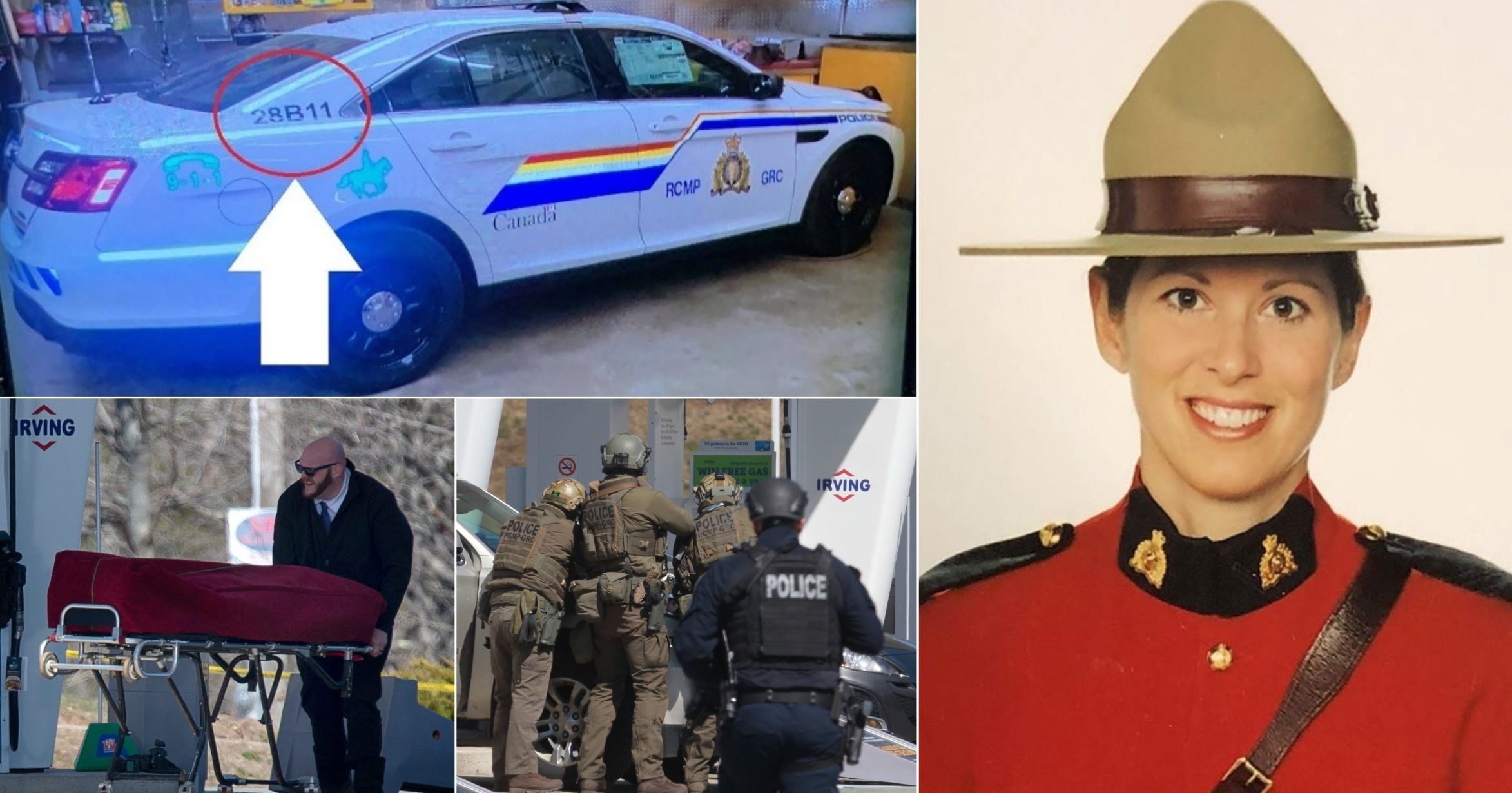 Pictured: Mountie shot dead by man in fake police car who killed at least 16 people in Canada