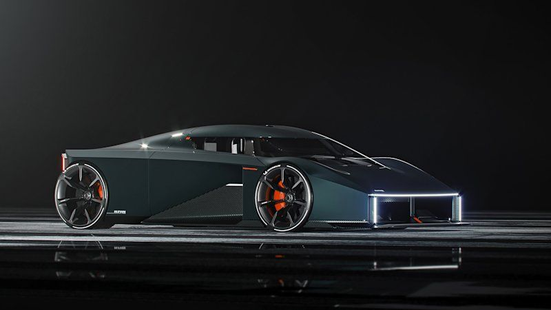 This wild rendering is a Koenigsegg-supervised student's design thesis