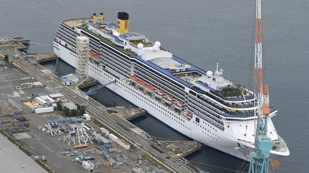 Japan reports 14 more COVID-19 cases on Italian cruise ship Costa Atlantica, taking total to 48
