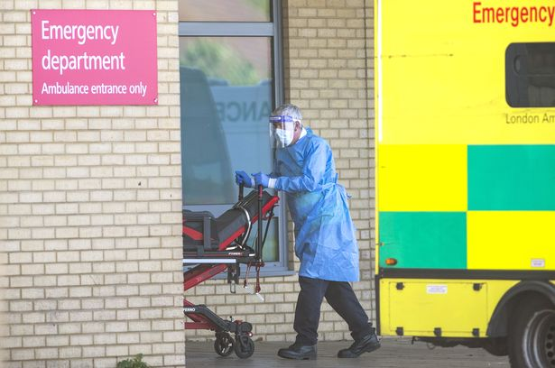 Child, 12, dies from coronavirus as UK hospital death toll soars to two week high