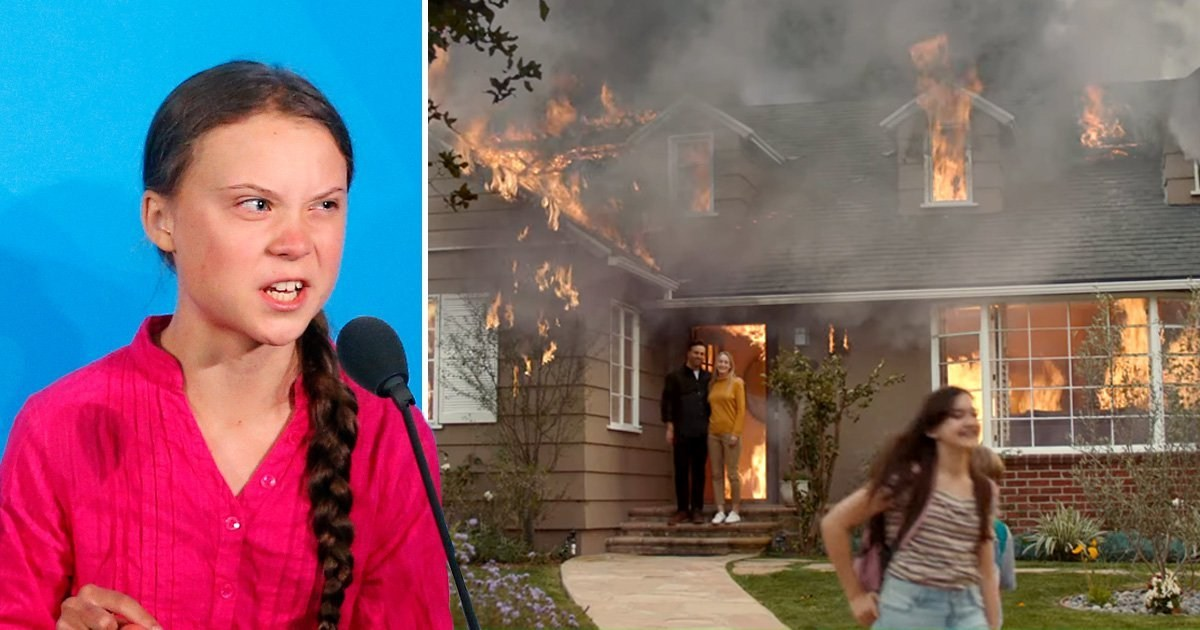 Greta Thunberg releases terrifying Earth Day ad warning 'Our house is on fire'
