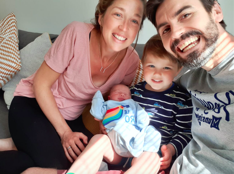 Teacher gives birth in supermarket car park after ambulance crew thought plea for help was wave of thanks for the NHS