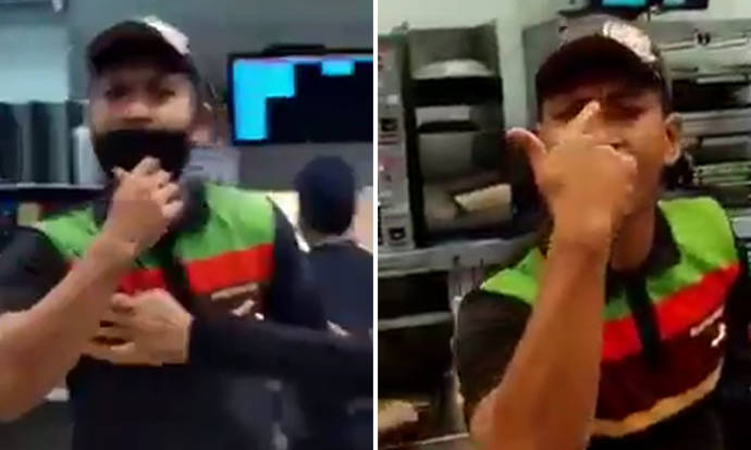 Burger King employee fined $300 for removing mask during dispute with GrabFood deliveryman at AMK Hub