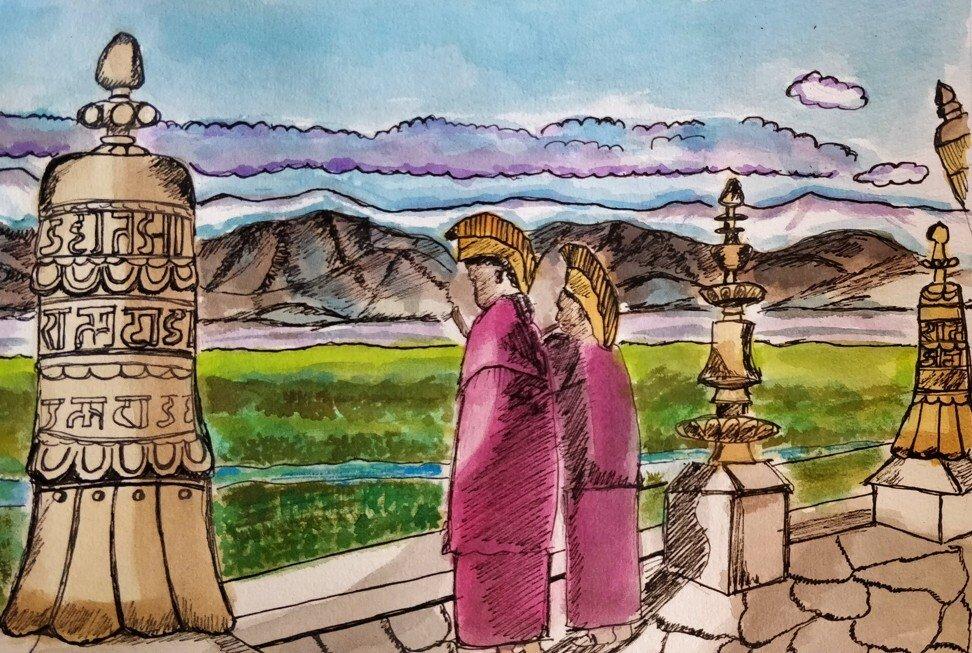 A homebound travel writer revisits her favourite destinations through art