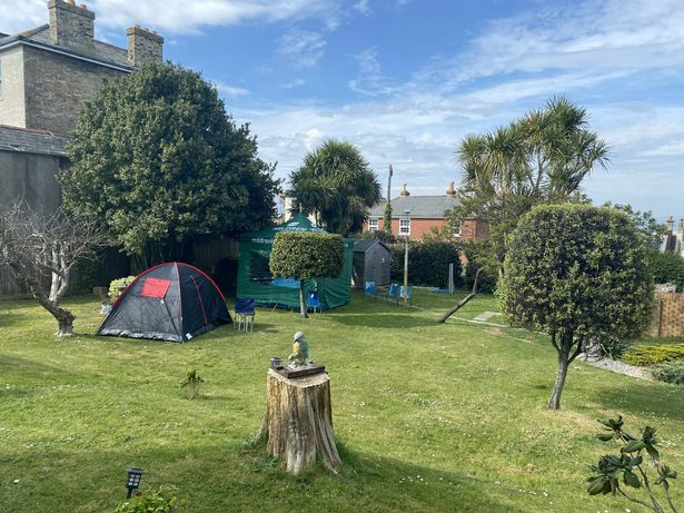 Care home staff are living in tents to help protect residents from coronavirus