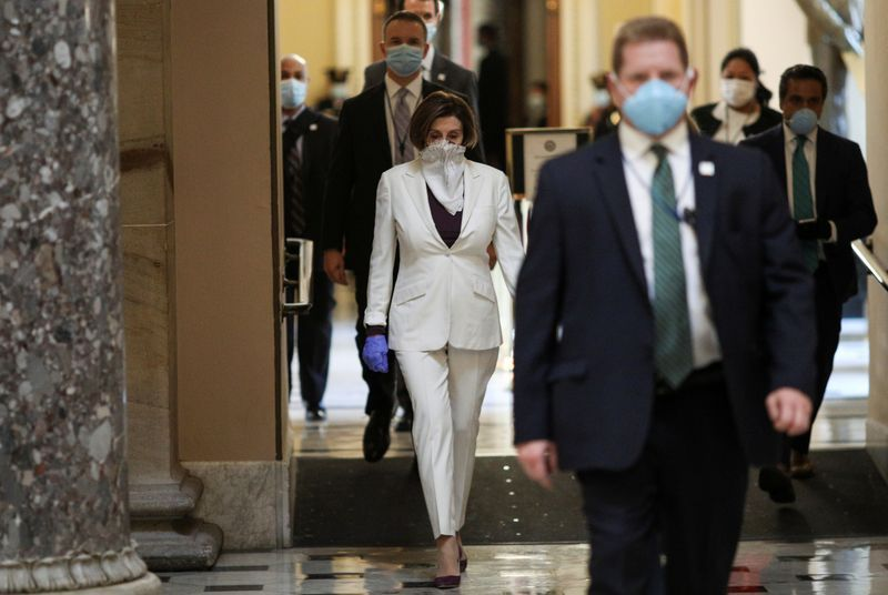 Truce over: U.S. Congress heads to partisan battle on coronavirus aid for states