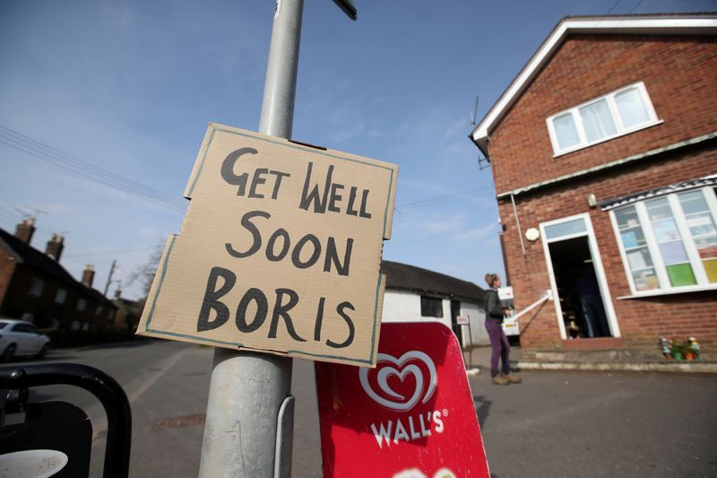 British PM johnson still recovering at country residence - spokesman