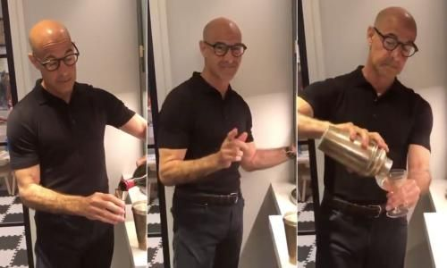 Why is Stanley Tucci making a negroni so hot? I decided to investigate