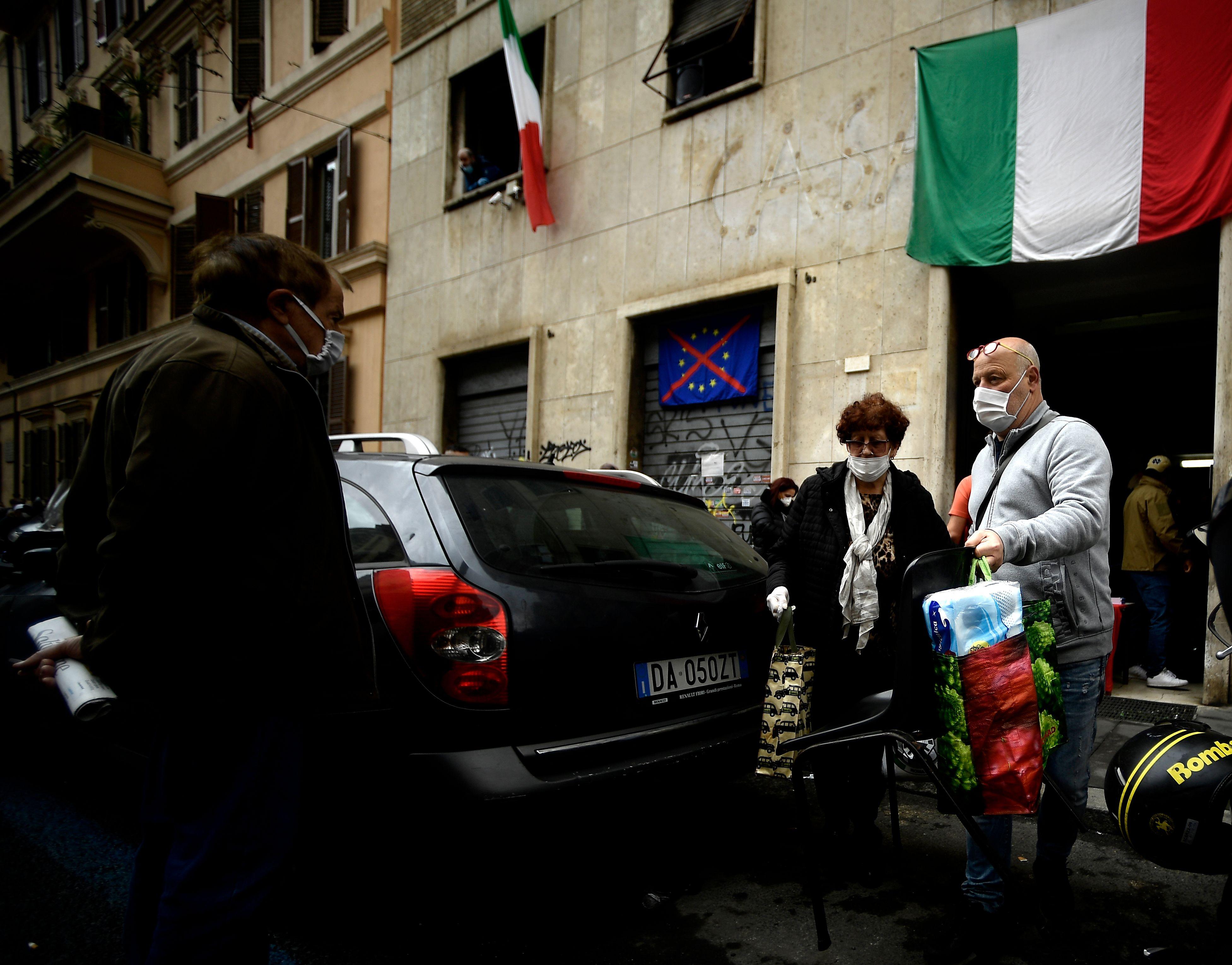 意大利疫情好转 新增治愈首次超越确诊
