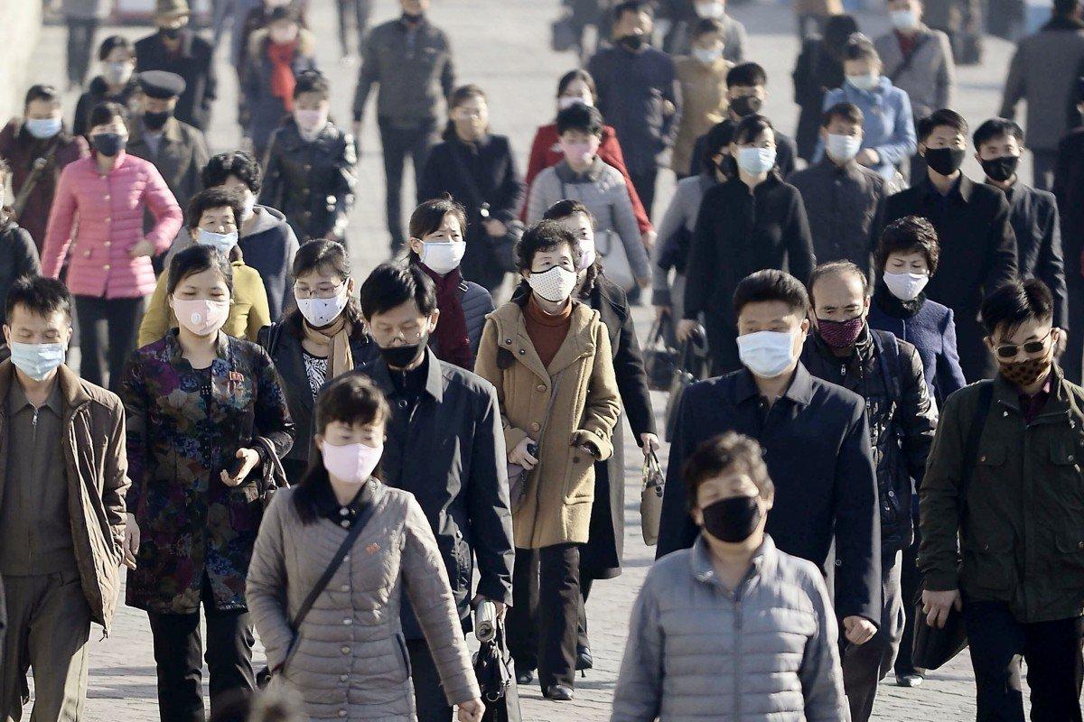Coronavirus: panic buying of food staples in Pyongyang, as North Korea insists it has no cases