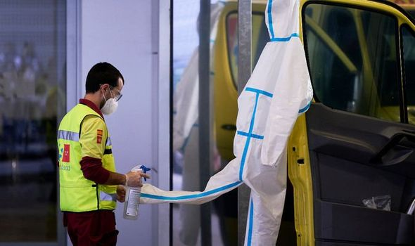 Spain records LOWEST 24-hour coronavirus death toll in a month - latest figures