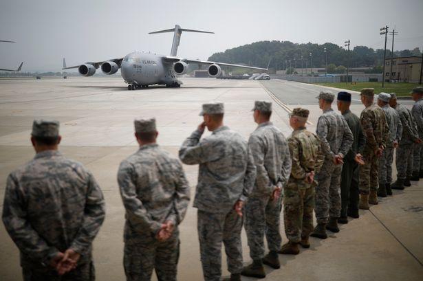 Coronavirus: US troops in South Korea sneak out to bars during lockdown