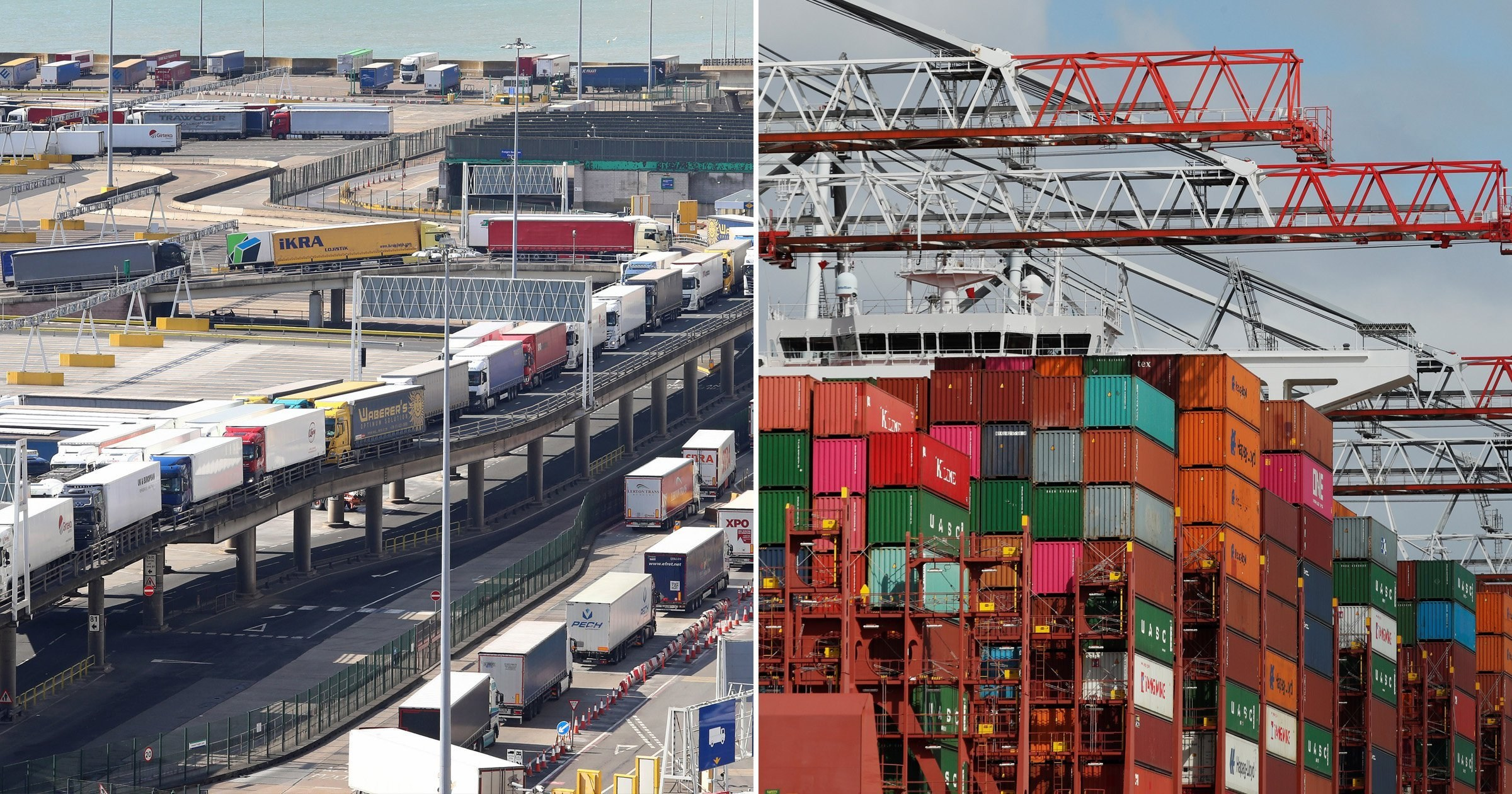 Deal struck with EU countries to keep vital supplies flowing into UK