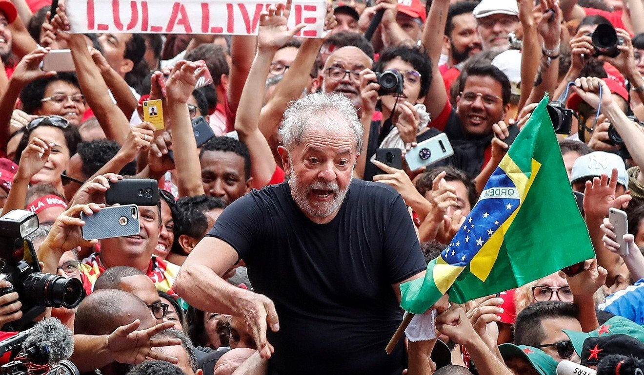 Brazil justice minister quits over Jair Bolsonaro's 'political interference'