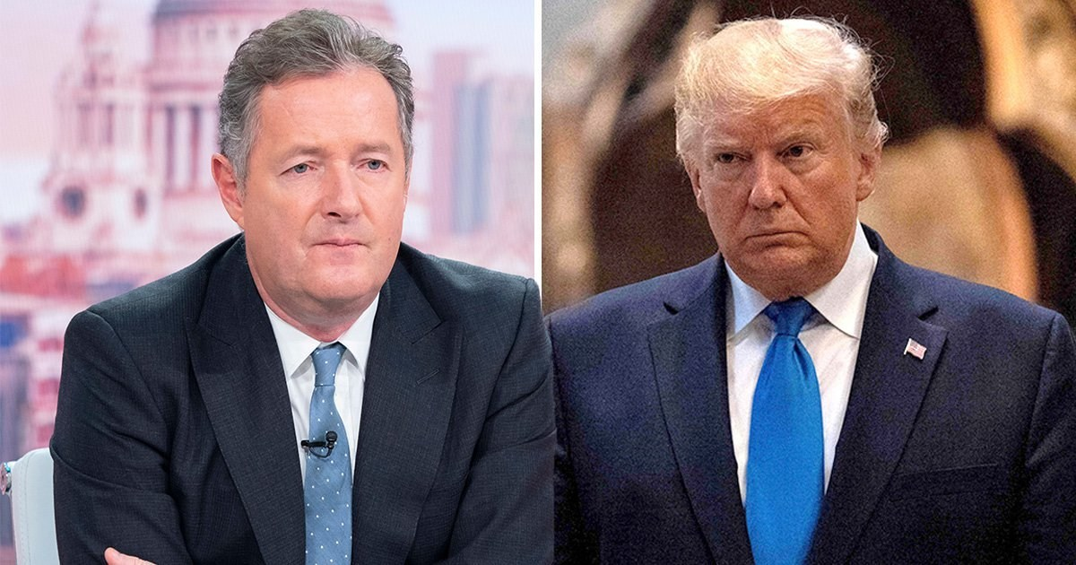Piers Morgan demands Donald Trump 'shut the f**k up' with 'bats**t crazy' theories following disinfectant comments
