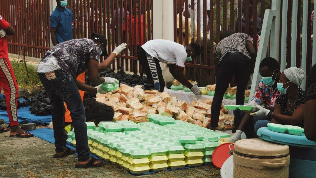 Ordinary Nigerians are filling the country's major social welfare gaps amid coronavirus