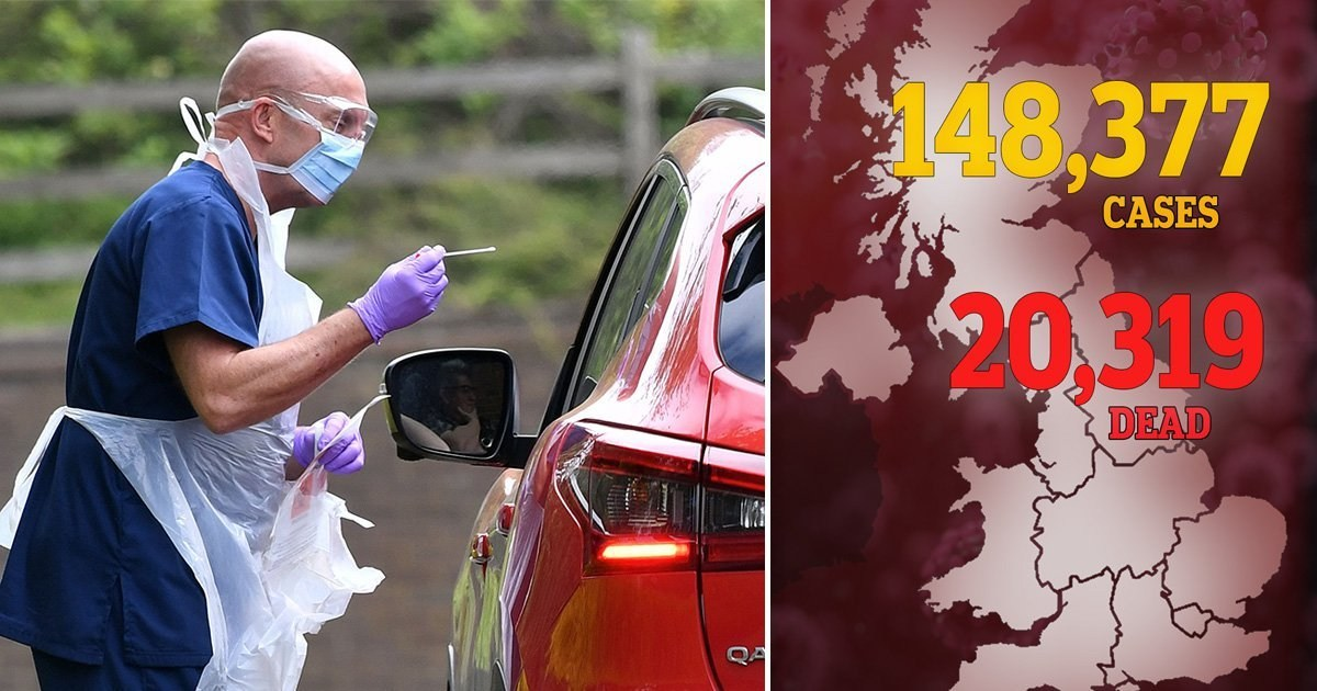 Grim milestone for UK as coronavirus deaths pass 20,000