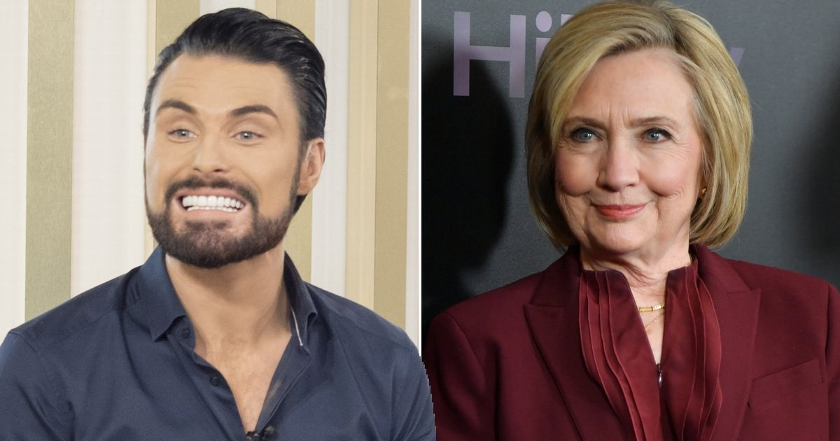 Rylan Clark claims Hillary Clinton offered him a job after he called her 'Hills, babe'