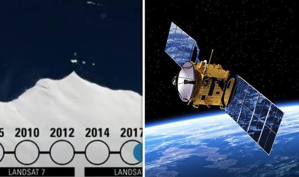Antarctica shock: NASA satellite exposes 'uncharted island' near South Pole