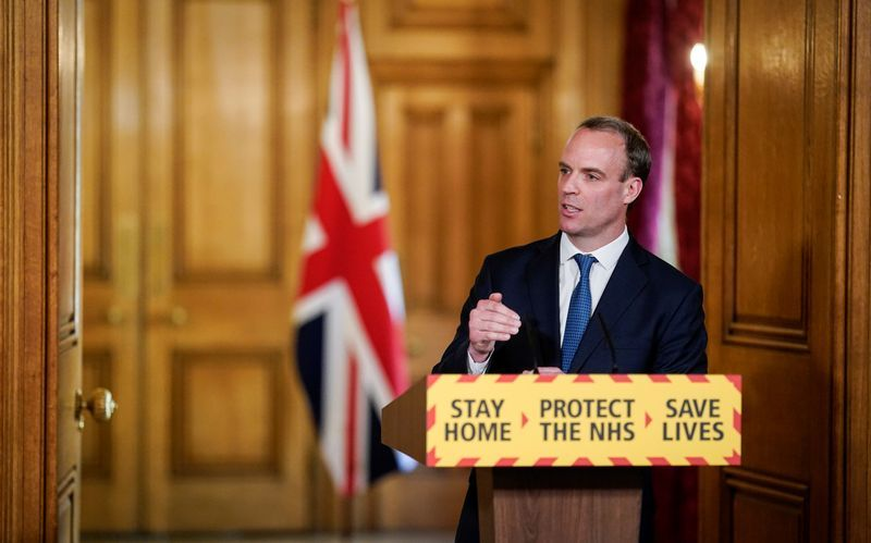 UK stand-in leader declines to explain lockdown exit strategy