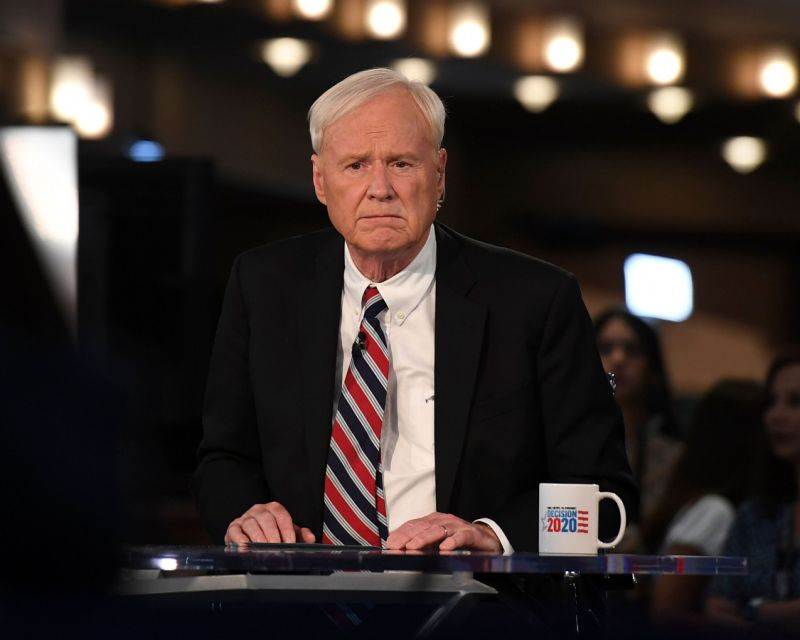 Chris matthews says allegation leading to his msnbc exit was 'highly justified'