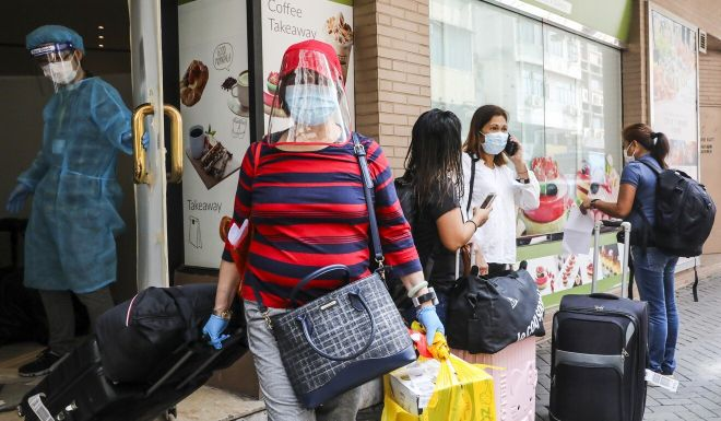 Coronavirus: Hong Kong can consider easing social curbs but arrivals should be tested twice, health experts say