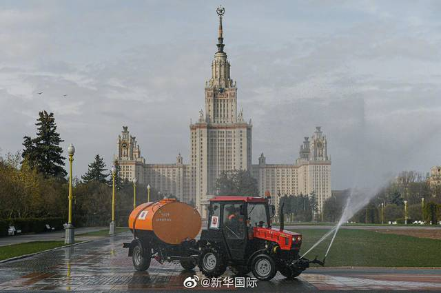 俄罗斯新冠病例超8万 普京将就疫情发表声明