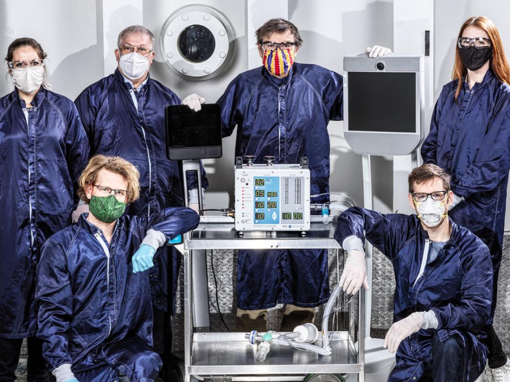 应对美国呼吸辅助器严重短缺问题!NASA工程师使用37天打造新款呼吸机!