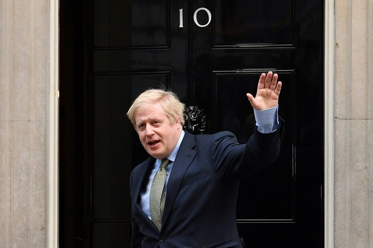 PM johnson back to work as UK virus problems mount