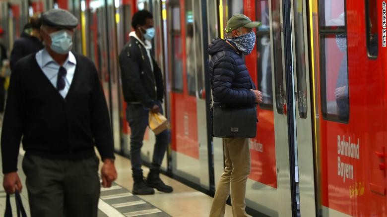 Germans face fines of up to $5,000 as wearing a face mask becomes mandatory