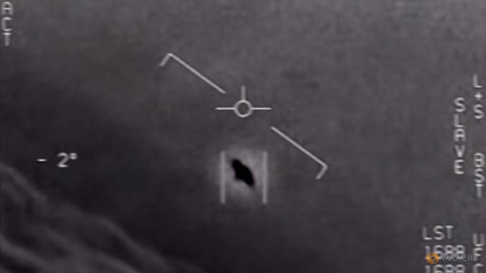 Pentagon releases 'UFO' videos taken by US Navy pilots