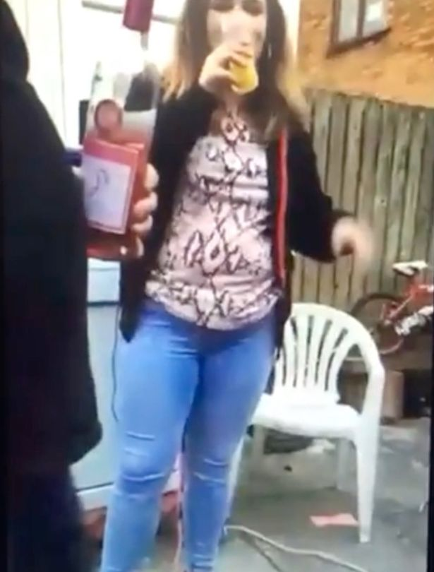 Woman who held garden party reported to police after live streaming family gathering