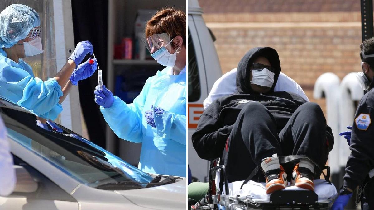 US hits 1,000,000 coronavirus diagnoses as 56,286 people die