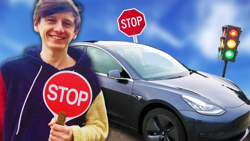 Tesla launches Autopilot traffic light and stop sign control