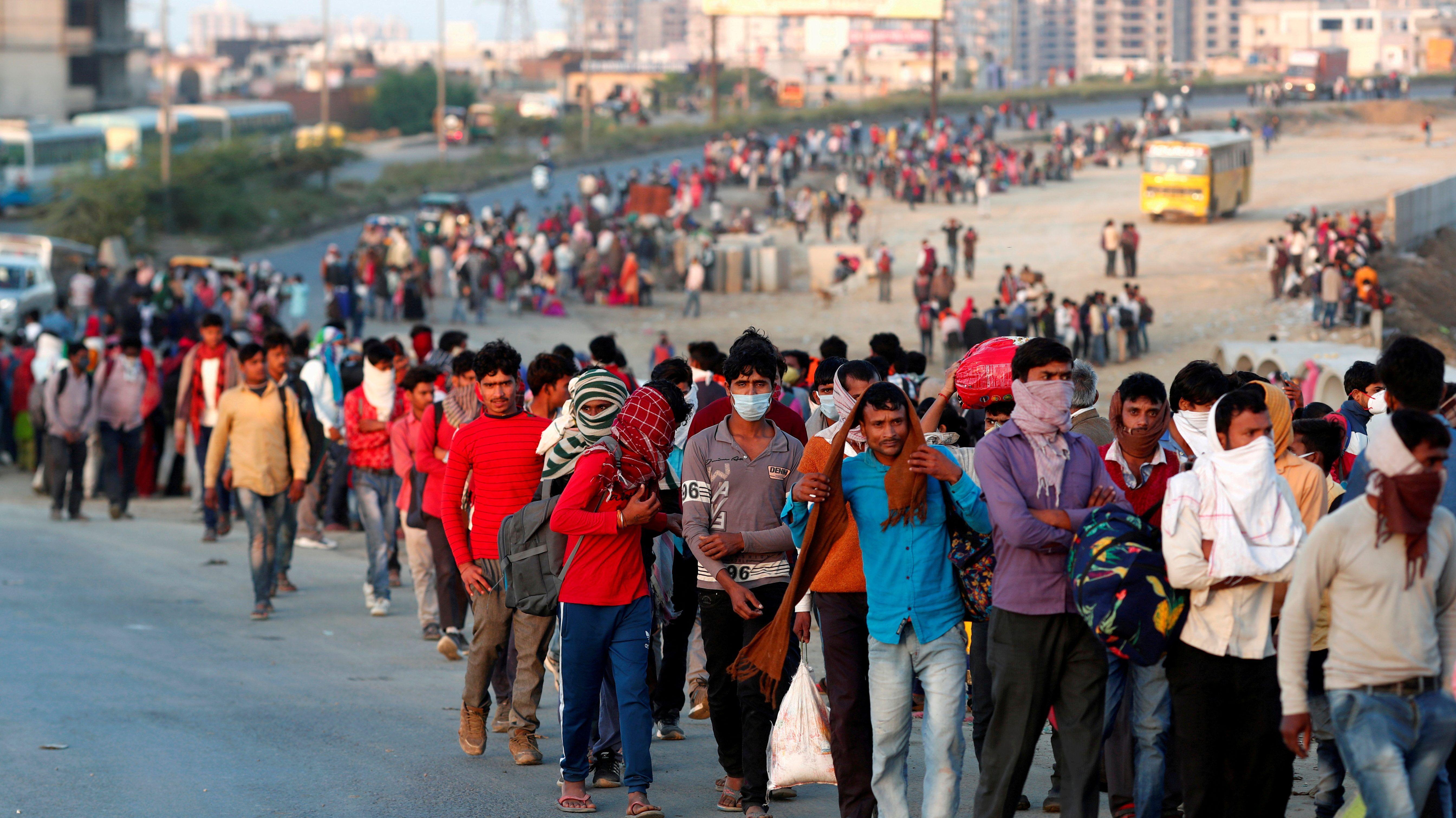 An Indian cloth trader's harrowing, 900 km walk home amid coronavirus lockdown