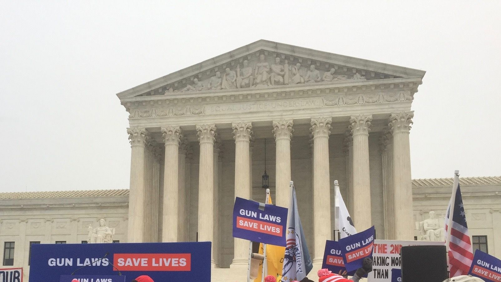 """Dissenting justices claim Supreme Court was """"manipulated"""" in New York gun case"""