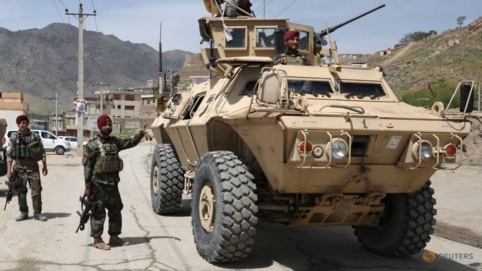 Bombing near Afghan capital kills three amid unabated violence