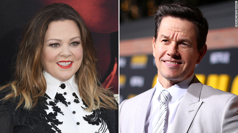Melissa McCarthy's dream about Mark Wahlberg may just come true