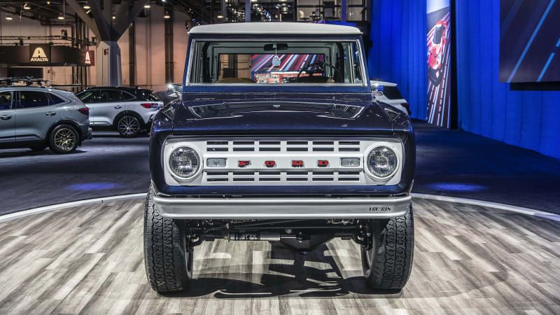 2021 Ford Bronco and Bronco Sport to offer three grille designs