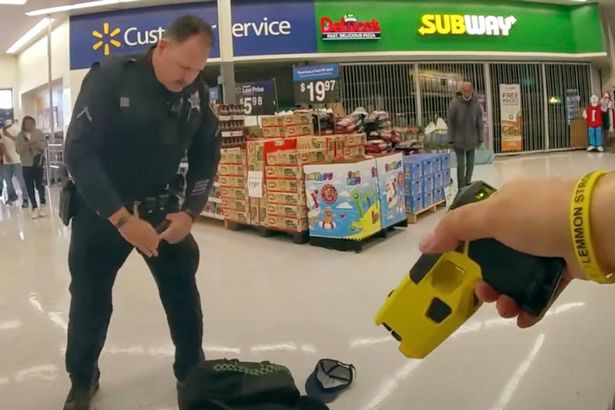 Horrifying bodycam footage shows moment man is shot dead by police in Walmart