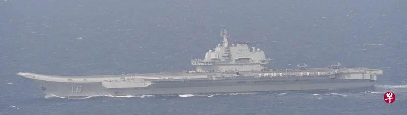 辽宁号昨穿宫古海峡回到东海