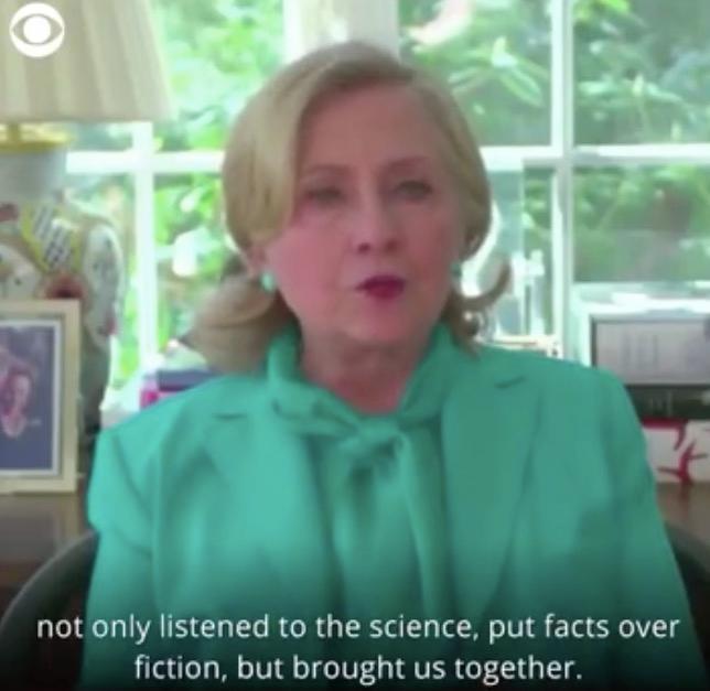 希拉里支持拜登竞选总统:美国需要一个相信科学,团结民众的总统