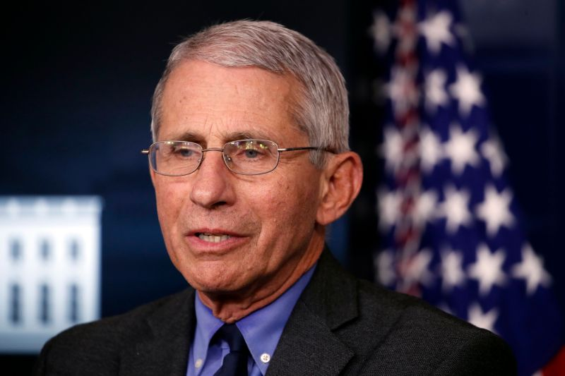 Dr. Fauci says U.S. Should 'hopefully' be able to test all WHO need one by June