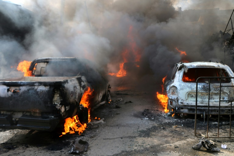 Fuel truck bomb kills more than 40 in northern Syria: monitor