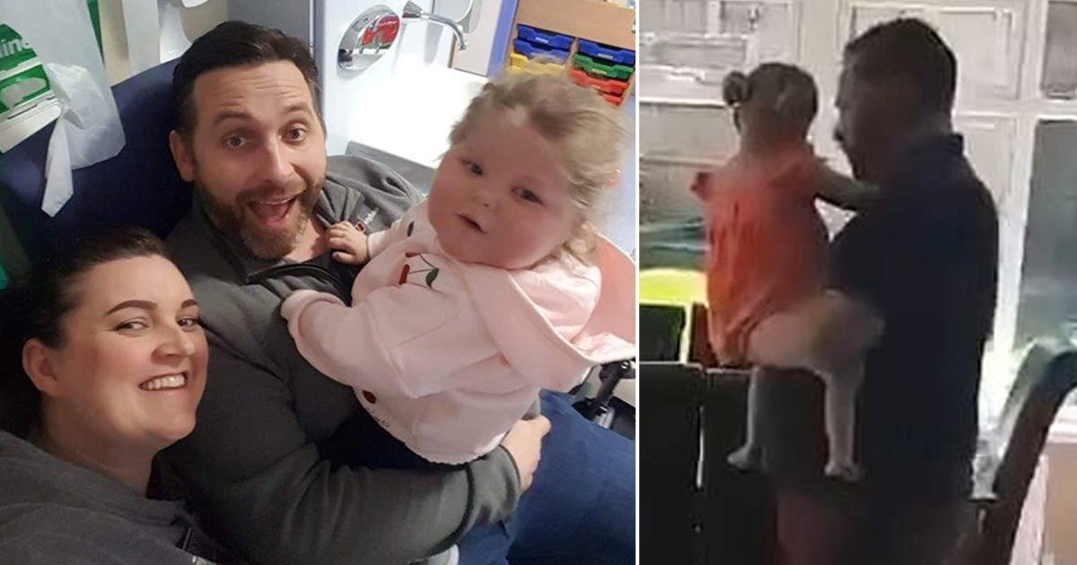 Dad shares last dance with daughter, 4, before her sudden death