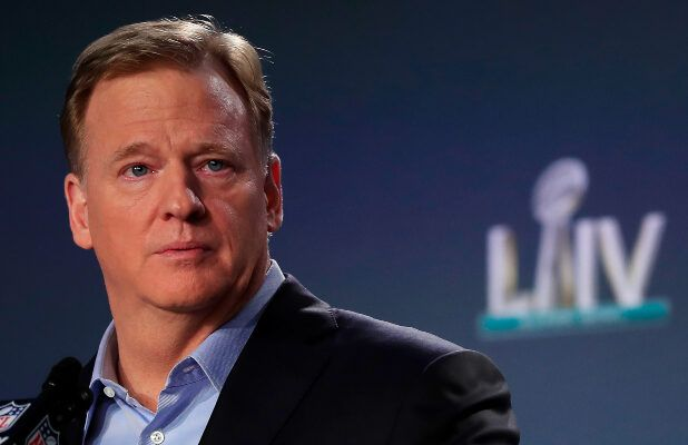 NFL Commissioner Roger Goodell Forgoes Salary During Coronavirus, League Furloughs Staff