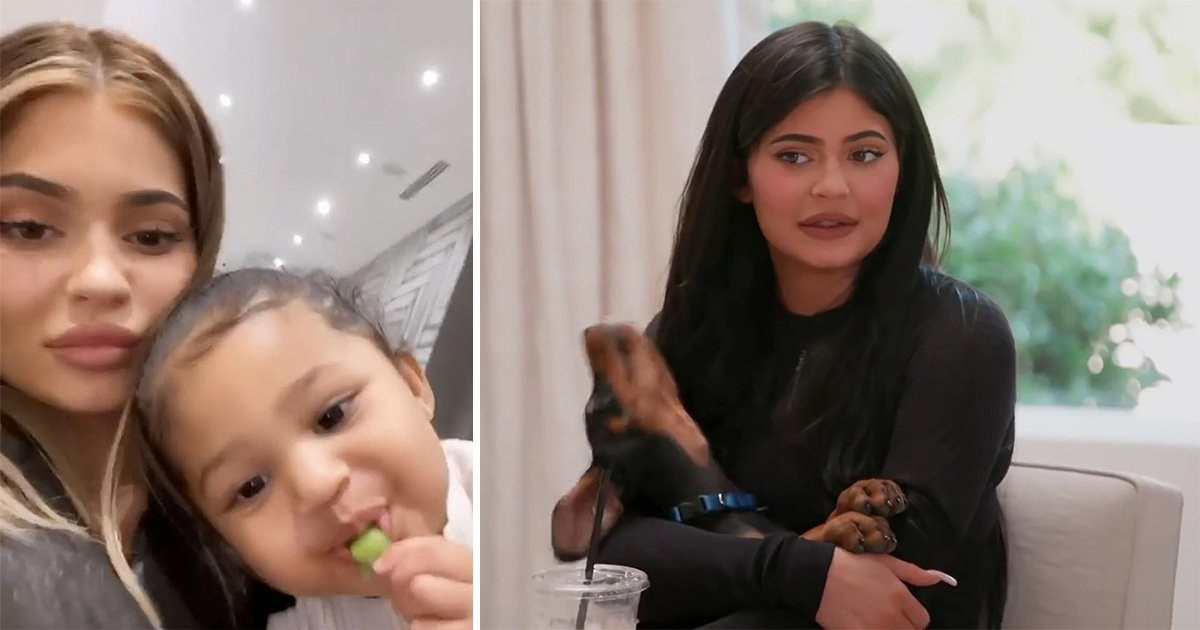 Kylie Jenner 'files legal claim to have company's Stormi Couture trademark cancelled'